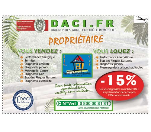 Diagnostic immobilier Daci